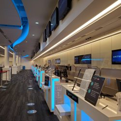 New ticket counters as part of ILM's terminal expansion