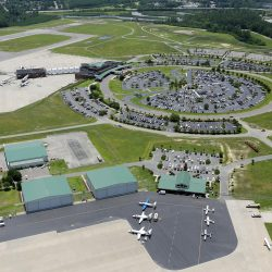 ILM airport terminal and General Aviation