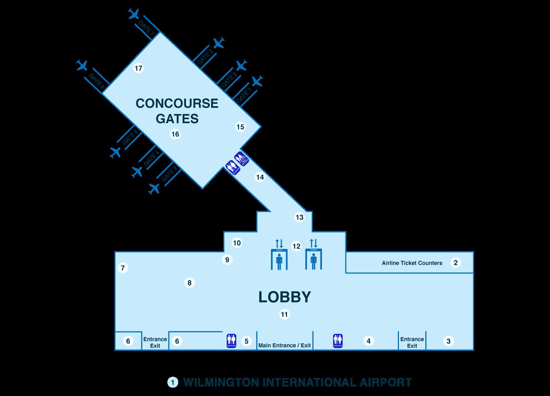 Charlotte Douglas Airport Map chattanooga map